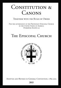 Constitution & Canons of The Episcopal Church 2015